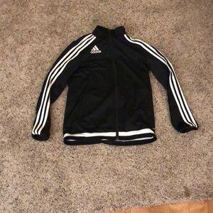 Adidas track coat youth large